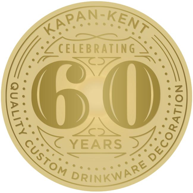 Kapan-Kent Celebrating 60 years of Quality Custom Drinkware Decoration